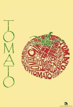 Tomato Text Poster