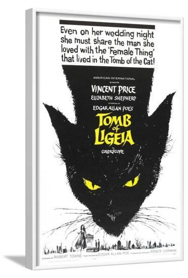Tomb of Ligeia, 1964--Framed Art Print