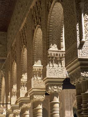 Patio De Los Leones, Palacio Nazaries, Alhambra, Granada, Andalucia, Spain by Tomlinson Ruth