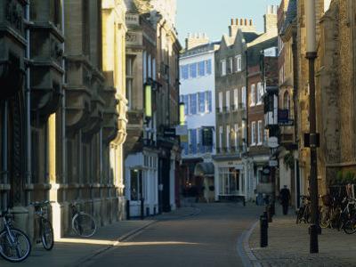 Trinity Street, Cambridge, Cambridgeshire, England, United Kingdom, Europe