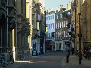 Trinity Street, Cambridge, Cambridgeshire, England, United Kingdom, Europe by Tomlinson Ruth