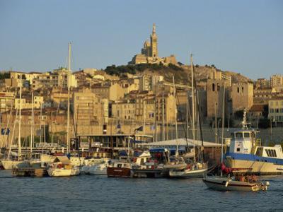 Vieux Port to the Basilica of Notre Dame De La Garde, Marseille, Provence, France