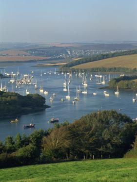 View over the Kingsbridge Estuary from East Portlemouth, Salcombe, Devon, England, United Kingdom by Tomlinson Ruth