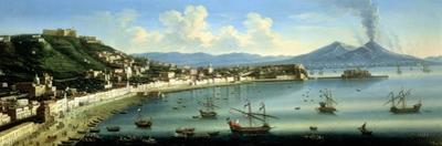 Naples, from the Heights of Posillipo with Vesuvius in the Distance, 1740