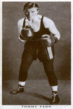 Tommy Farr, Welsh Boxer, 1938