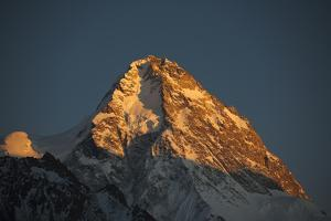 A Rare View of the Epic Ridge on the Chinese Side of K2 by Tommy Heinrich