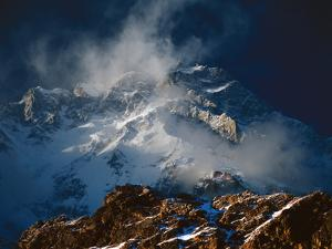 Savage winds whip Nanga Parbat's majestic Rupal Face by Tommy Heinrich