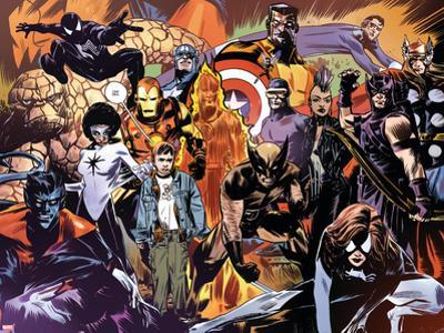 Marvel 1985 No.6 Group: Wolverine