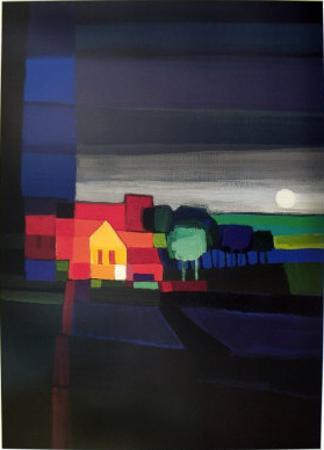 Night Falls by Ton Schulten
