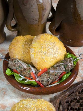 Arabic Food, Kofta, Lamb Skewers, Middle East by Tondini Nico