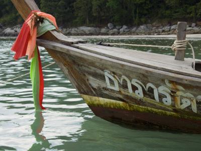 Boat, Kota Beach, Phuket, Thailand, Southeast Asia by Tondini Nico