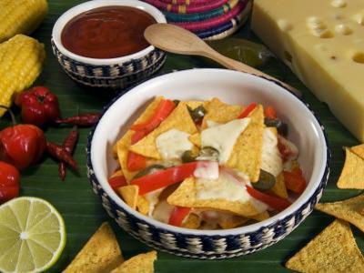 Cheese Nachos, Mexican Food, Mexico, North America by Tondini Nico