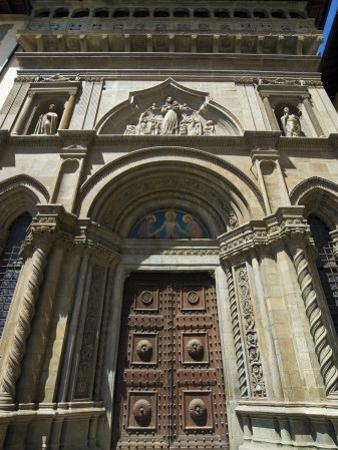 Court of Justice Building, Piazza Vasari, Arezzo, Tuscany, Italy, Europe by Tondini Nico