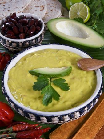 Guacamole Sauce, Mexican Food, Mexico, North America by Tondini Nico