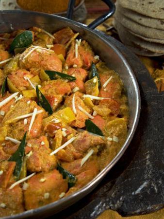 Indian Food, Chicken Tikka Masala, India by Tondini Nico