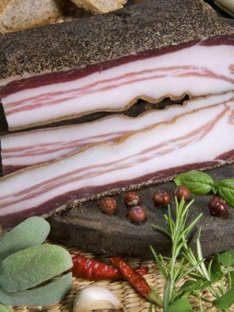 Italian Bacon, Italy, Europe by Tondini Nico