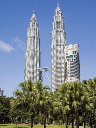 Petronas Towers, Kuala Lumpur, Malaysia, Southeast Asia by Tondini Nico