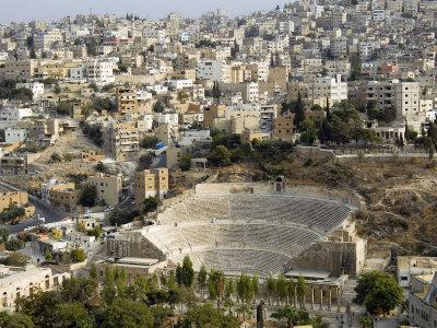Roman Theatre, Amman, Jordan, Middle East