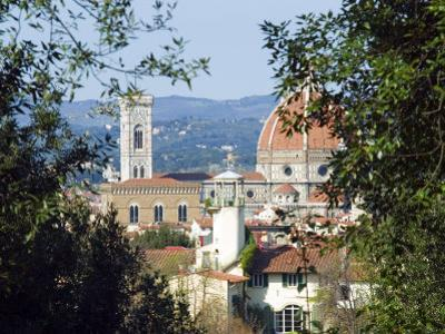 View of Florence from Boboli Gardens, Florence, Tuscany, Italy, Europe