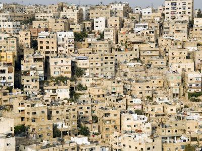 View over City, Amman, Jordan, Middle East