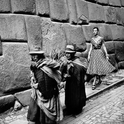 Peru: Fashion Model, 1950S by Toni Frissell