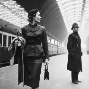 Victoria Station, London by Toni Frissell