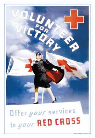 Volunteer for Victory: Offer Your Services to Your Red Cross by Toni Frissell