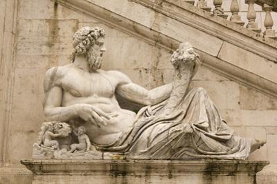 Tiber as A God. Campidoglio, Rome. by Toniflap