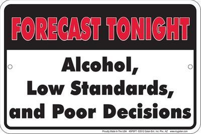 Tonights Forecast
