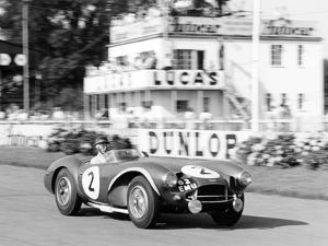 Tony Brooks in Aston Martin Db3S, Goodwood 9 Hours, West Sussex, 1955