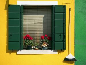 Colourful Houses in Burano by Tony Burns