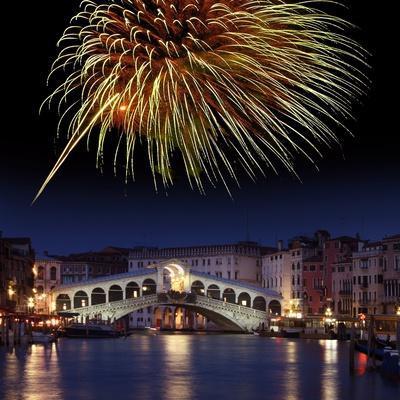 Fireworks Display, Venice