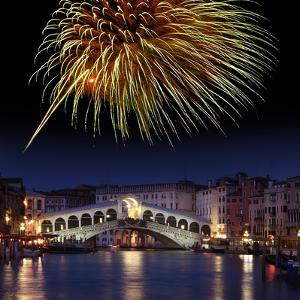 Fireworks Display, Venice by Tony Craddock