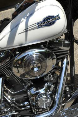 Motorcycle Engine by Tony Craddock