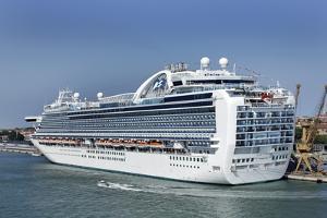 MS Ruby Princess Cruise Ship by Tony Craddock