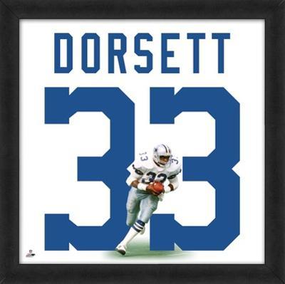 Tony Dorsett, Cowboys representation of the player's jersey