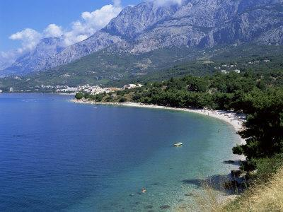 Central Dalmatian Coastline Known as Makarska Riviera, Dalmatia, Croatia, Europe