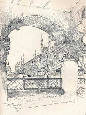 Colonnade Near the Pont Des Invalides, C1900