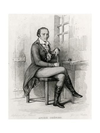 Andre Chenier (Johannot)