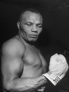 Boxer Joe Walcott by Tony Linck