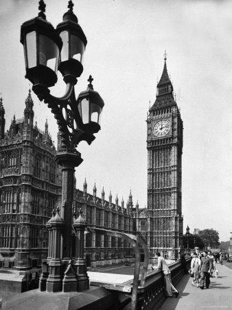 Exterior View of the House of Parliament and Big Ben