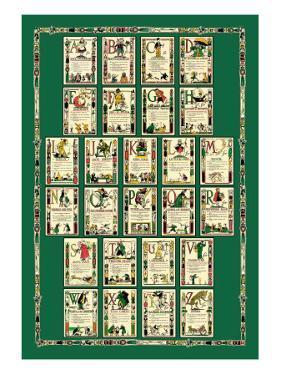Alphabet Composite Sheet by Tony Sarge