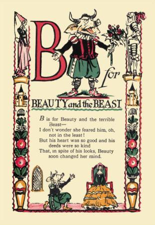 B for Beauty and the Beast