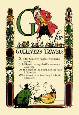G for Gulliver's Travels by Tony Sarge
