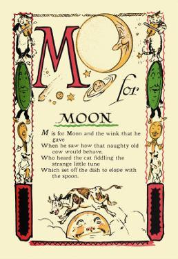 M for Moon by Tony Sarge