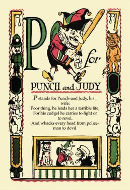 P for Punch and Judy by Tony Sarge