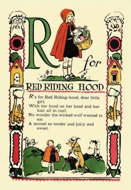 R for Red Riding Hood by Tony Sarge
