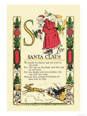 S for Santa Claus by Tony Sarge