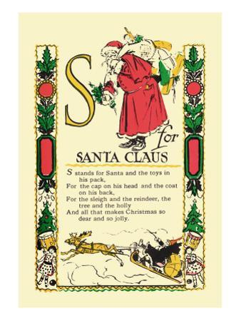 S for Santa Claus