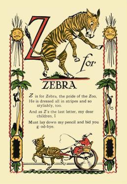 Z for Zebra by Tony Sarge